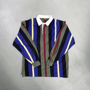 BROOKS BROTHERS Striped L/S Rugby Shirt