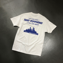 Load image into Gallery viewer, TONY PEPPERONI 24/7 Delivery S/S Tee