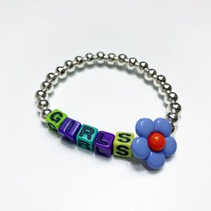"FUK'S SWEETHEART Beads Bracelet ""GIRLS"""