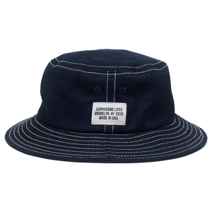 "SLON Stitched Bucket Hat by Dickies ""Navy"""