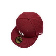 "Load image into Gallery viewer, New York Mets New Era 59FIFTY Fitted ""Burgundy"""