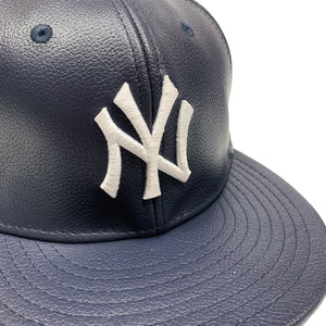 "New York Yankees New Era 59FIFTY Fitted ""Navy Leather"""