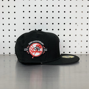 "New York Yankees New Era 59FIFTY Fitted Cap ""Apple- Black"""