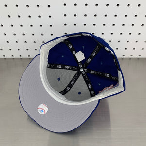 "New York Mets New Era 59FIFTY Fitted Cap ""25th Anniversary - Apple Blue"""