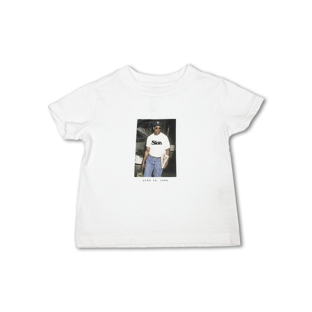 [For Kids & Women] SLON Denzel Washington in 1996 S/S Tee