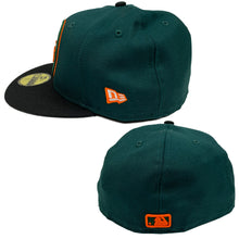 "Load image into Gallery viewer, New York Mets New Era 59FIFTY Fitted Cap ""Dark Green"""