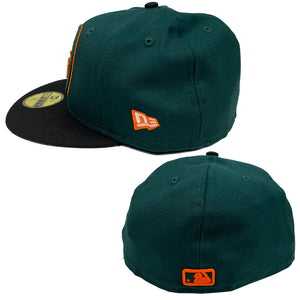 "New York Mets New Era 59FIFTY Fitted Cap ""Dark Green"""