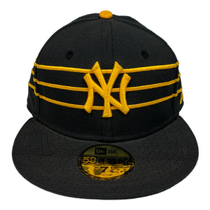 "New York Yankees New Era 59FIFTY Fitted Cap ""Black x Yellow"""