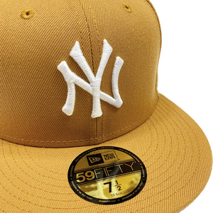 "New York Yankees New Era 59FIFTY Fitted Cap ""Camel"""