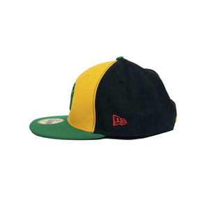 "New York Yankees New Era 59FIFTY Fitted Cap ""Rastafari"""