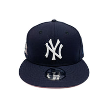 "Load image into Gallery viewer, New York Yankees 9FIFTY SnapBack Cap ""Pink Brim"""