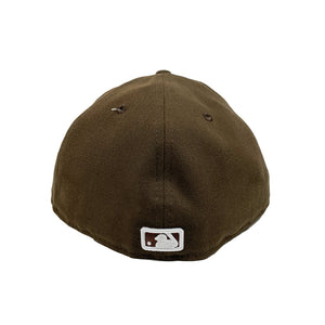"New York Yankees 59FIFTY Fitted Cap ""Brown"""