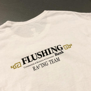 Flushing Bank Dragons Used Promotion S/S Tee