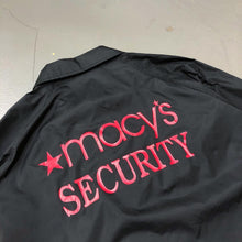Load image into Gallery viewer, macy's Security Vintage Staff Coach Jacket