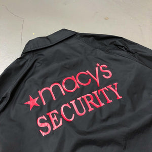 macy's Security Vintage Staff Coach Jacket