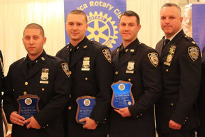 "Jamaica Rotary Club Queens New York ""NYPD Cop of the Month"" Cap"