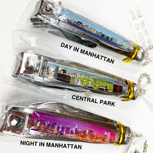 "New York Souvenir Keychain ""Nail Clippers"""
