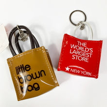 Load image into Gallery viewer, New York Department Store's Mini Bag Keychain