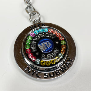 MTA New York City Transit Keychain