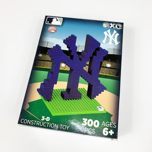 New York Yankees 3D CONSTRUCTION TOY