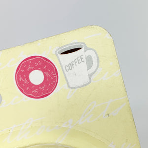 "3M Post-it NOTES FEUILLETS ""Coffee & Donut"""