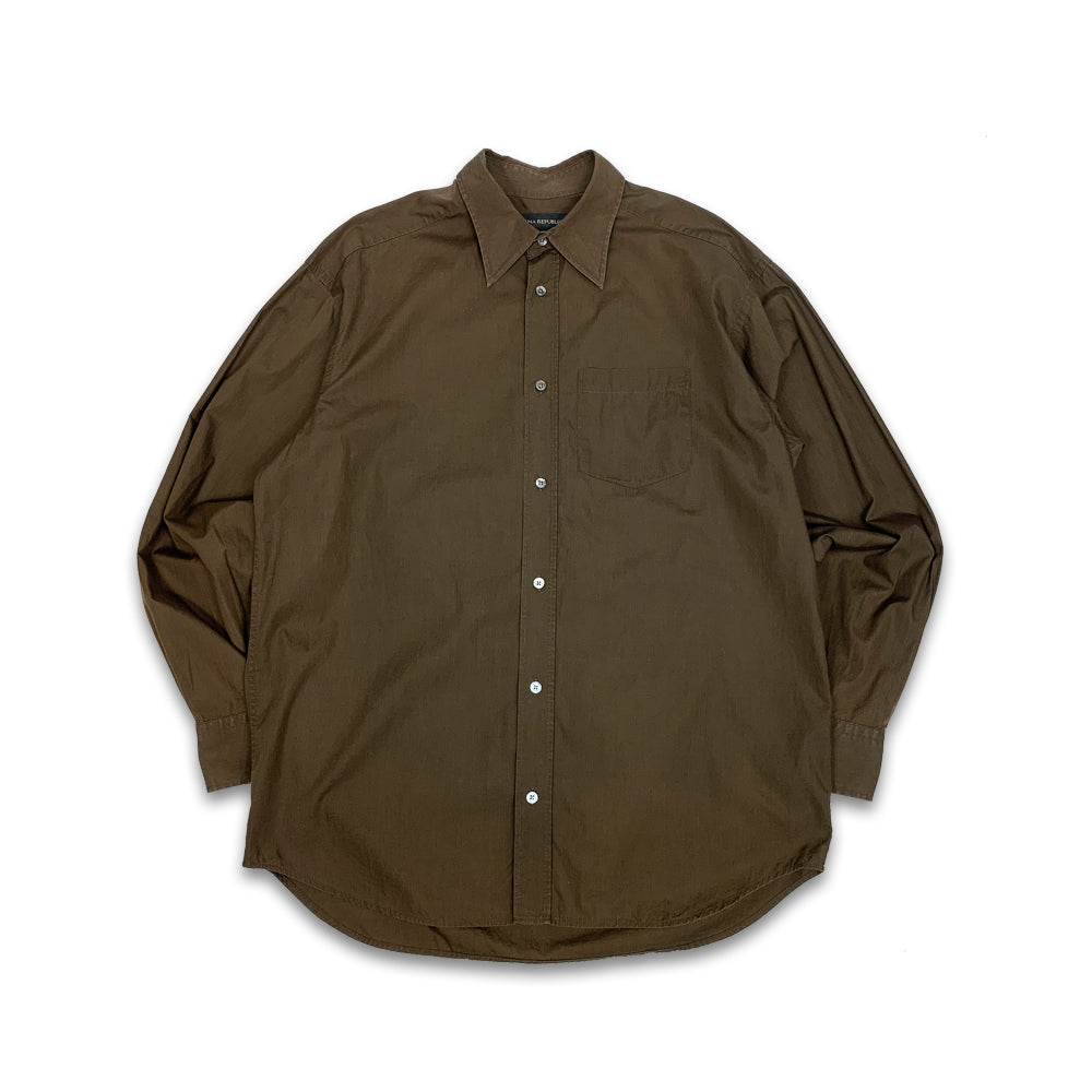 Banana Republic L/S Plain Shirt