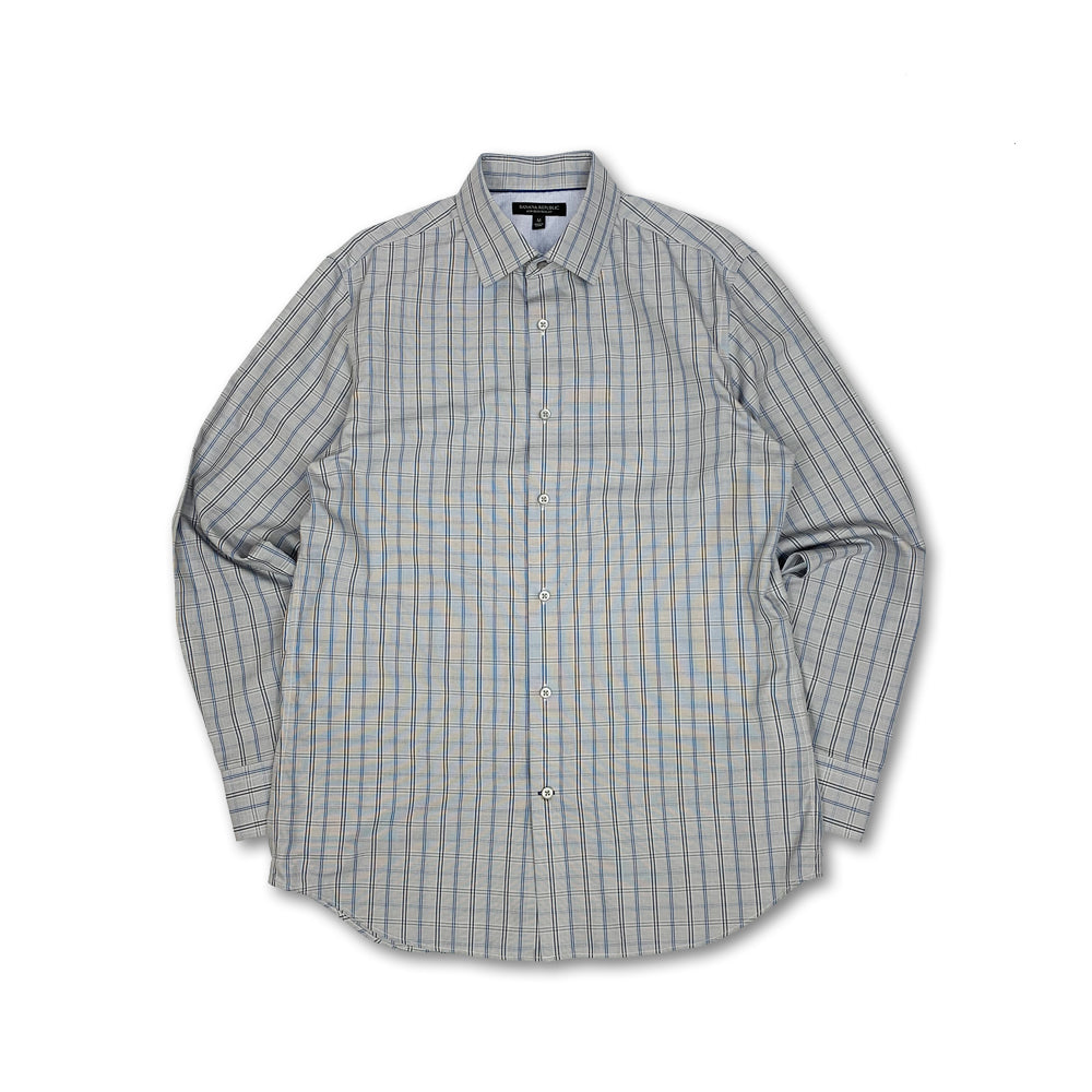 Banana Republic L/S Plaid Shirt