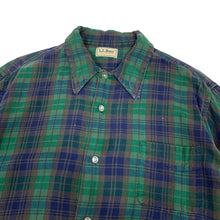 Load image into Gallery viewer, L.L.Bean L/S Plaid Flannel Shirt