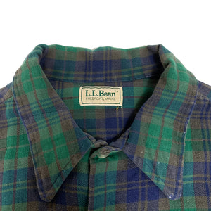 L.L.Bean L/S Plaid Flannel Shirt