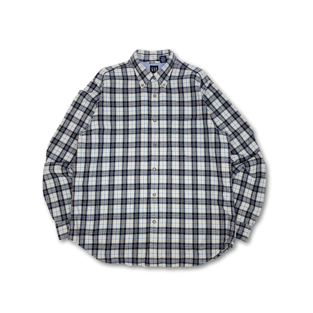 GAP L/S Flannel Plaid Shirt