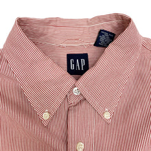 Load image into Gallery viewer, GAP L/S Mini Striped Shirt