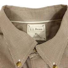 Load image into Gallery viewer, L.L.Bean L/S Houndstooth Shirt