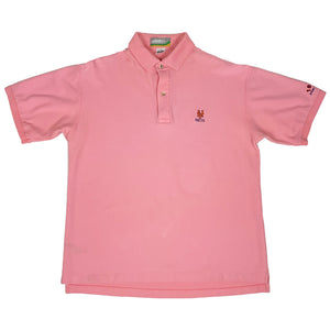 "New York Mets Vintage Polo S/S Shirt ""Pink"""