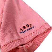 "Load image into Gallery viewer, New York Mets Vintage Polo S/S Shirt ""Pink"""