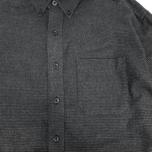 L.L.Bean L/S Flannel Houndstooth Shirt
