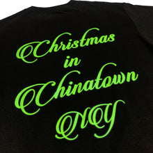 "Load image into Gallery viewer, SLON Christmas in Chinatown S/S Tee ""Black"""