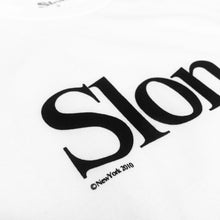 "Load image into Gallery viewer, SLON Tech S/S Tee ""White"""