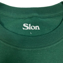 "Load image into Gallery viewer, SLON Blueprint Logo S/S Tee ""Green"""