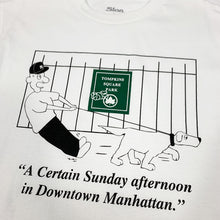 "Load image into Gallery viewer, SLON Sunday in Downtown S/S Tee ""White"""