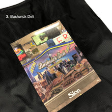 "Load image into Gallery viewer, SLON Deli & Grocery Packable Tote ""Black"""