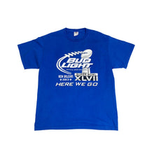 Load image into Gallery viewer, BUD LIGHT Super Bowl 2013 Vintage S/S Promotion Tee