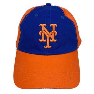 "New York Mets x Nathan's Famous Hot Dogs & Restaurants Vintage Cap ""Blue x Orange"""