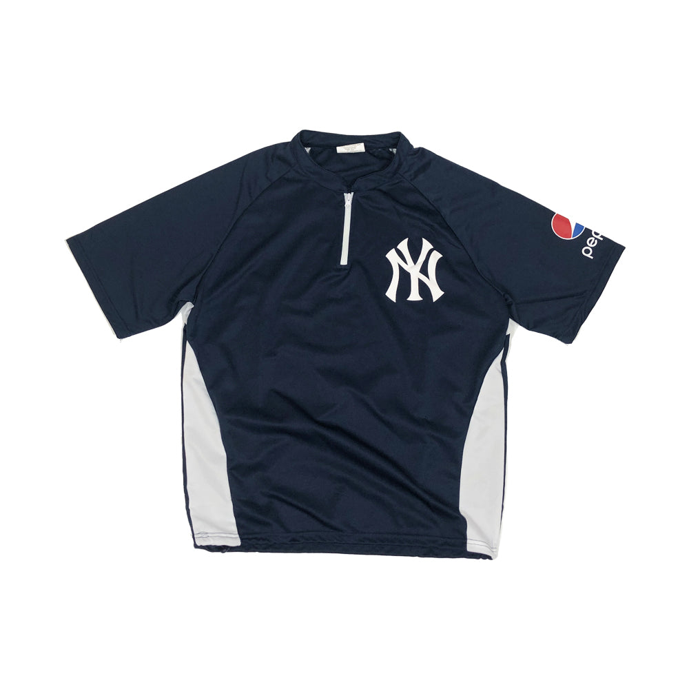 New York Yankees Warm Up Vintage S/S Jersey Shirt