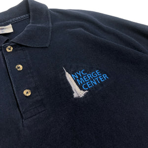 NYC Merge Center Vintage S/S Staff Polo Shirt