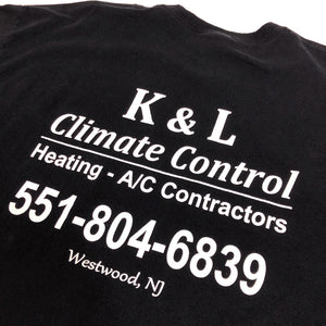 K&L Climate Control Vintage S/S Staff Tee
