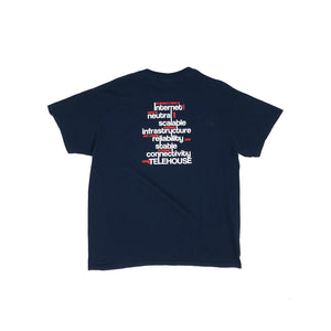 NYIIX by TELEHOUSE Vintage S/S Promotion Tee