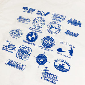 Oyster Bay Bluefish Tournament 2019 Official Vintage S/S Tee