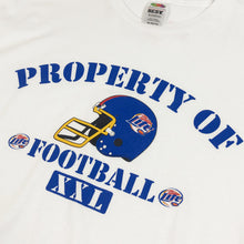 Load image into Gallery viewer, Property Of Football by Miller Lite Vintage S/S Tee