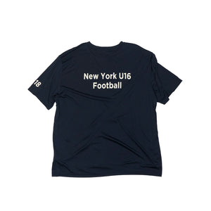 New York U16 Football Vintage S/S Jersey Shirt
