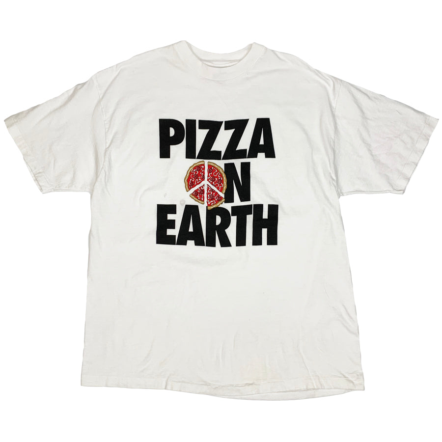 PIZZA ON EARTH Vintage S/S Tee